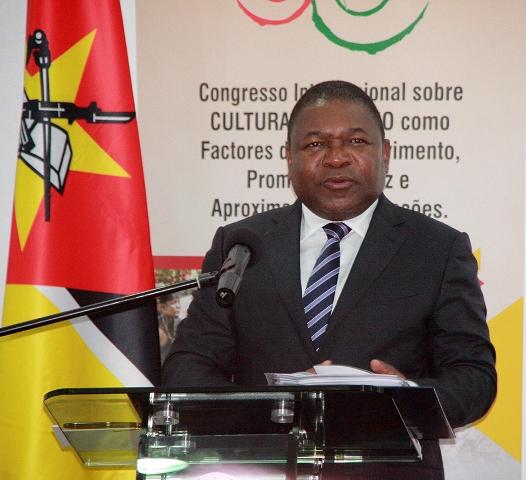 Filipe Nyusi Presidente da Repblica 1