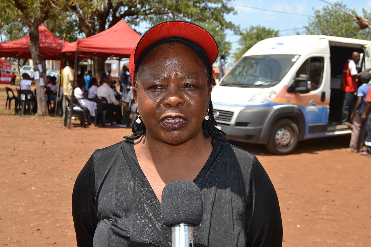 Guilhermina Gaspar Kumagwelo administradora do distrito de Moamba