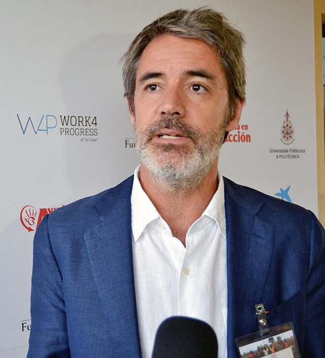 Jaime Diaz coordenador da W4P em Mocambique