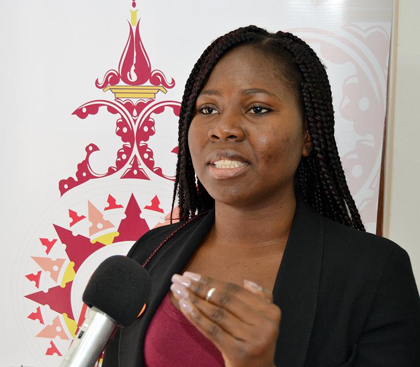 Sonia Catingue oradora