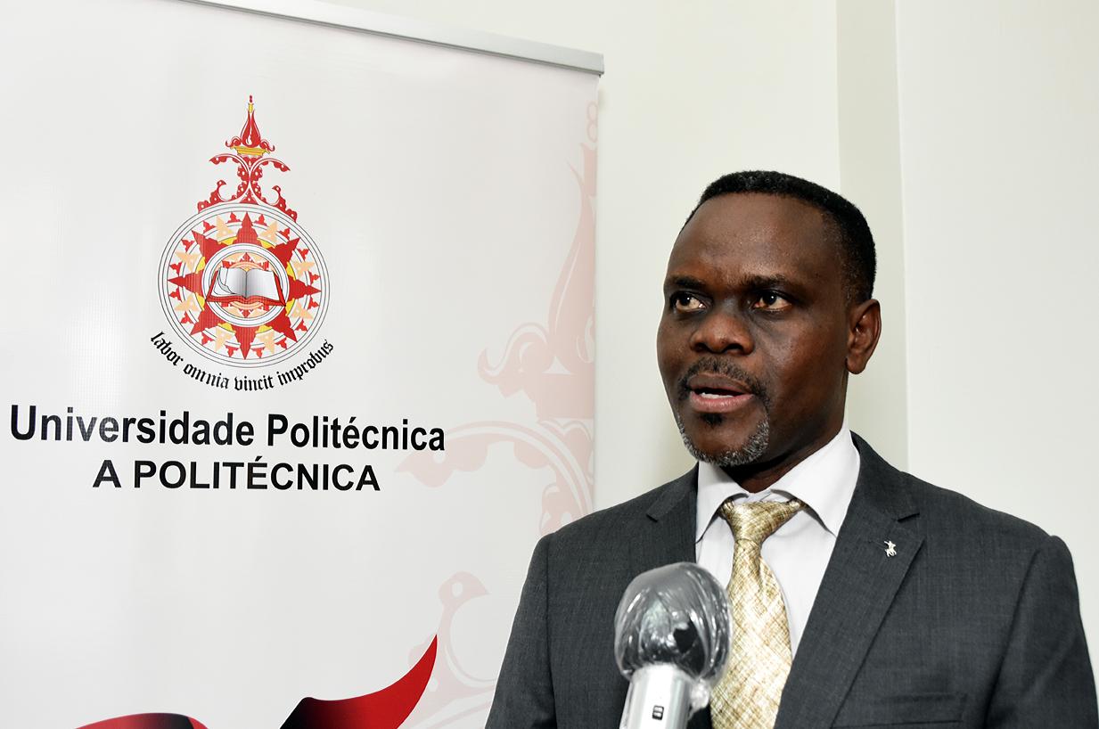 Cristiano Macuamule, vice-reitor da Universidade Politécnica